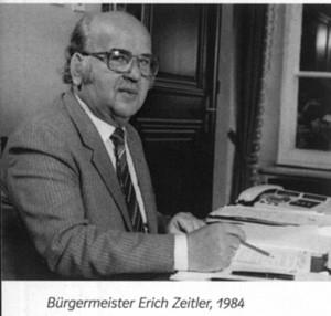 Bürgermeister Erich Zeitler