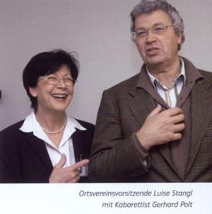 Luise Stangl und Gerhard Polt