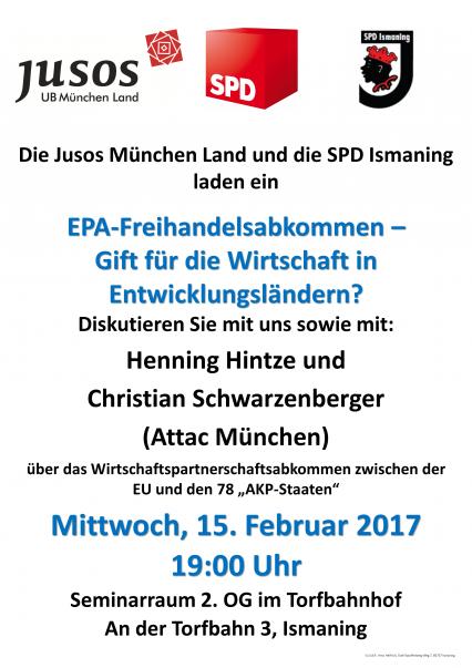 Vortrag EPA-Freihandelsabkommen