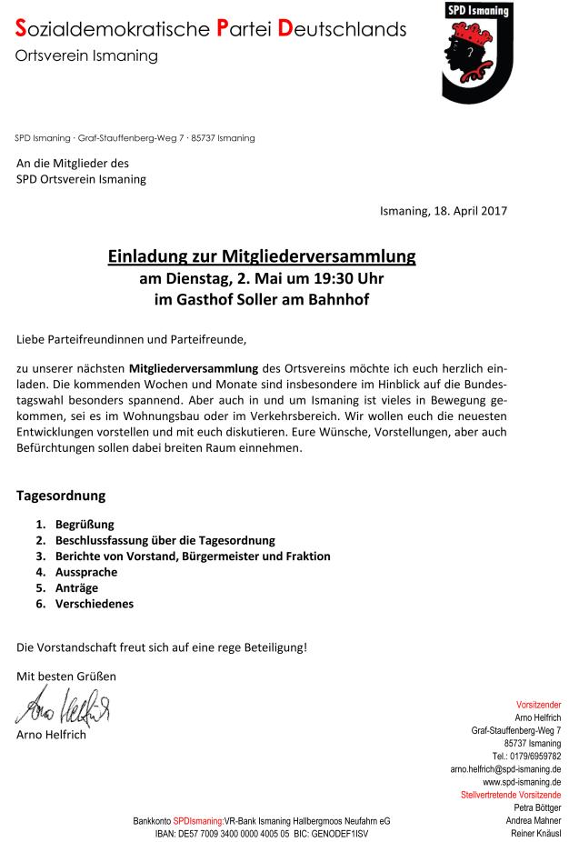 Einladung Mitgliederversammlung 2017-05-02
