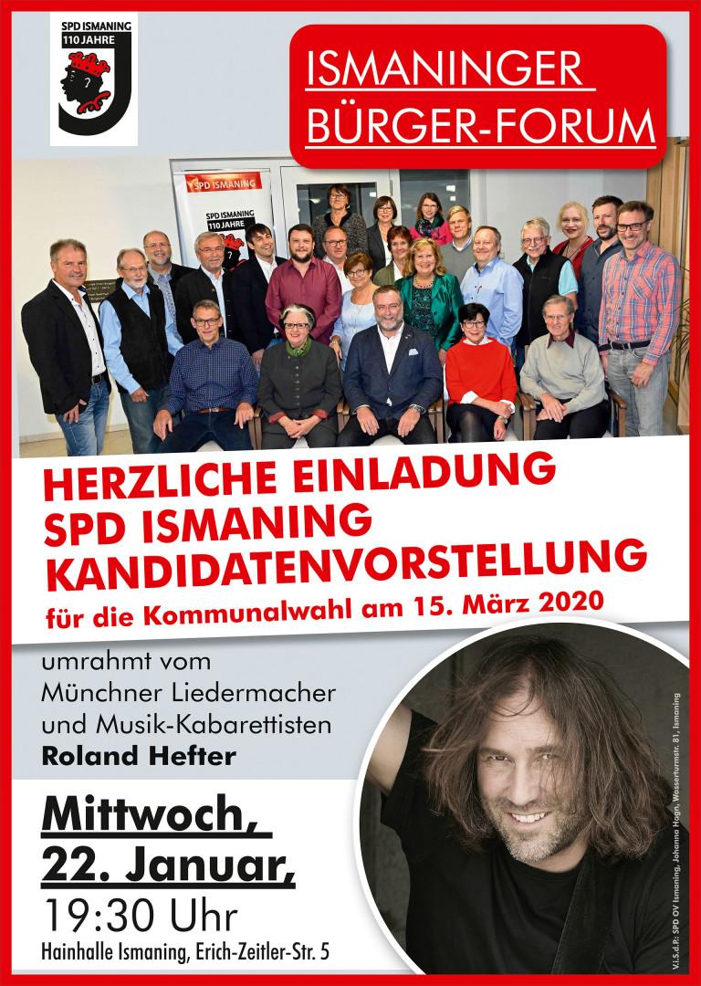 Plakat Kandidatenvorstellung 2020-03-22