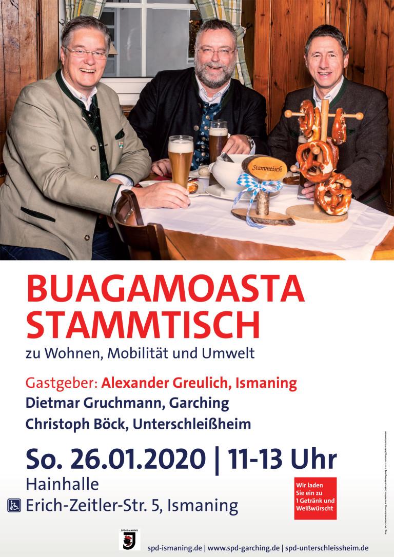 Buagamoasta Stammtisch 2020-01-26